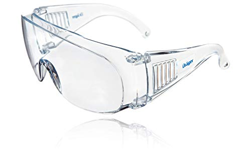 Dräger X-pect 8110 |  Protective Covers |  Anti-Fog Safety Glasses |  for Laboratory, Agriculture, Industry