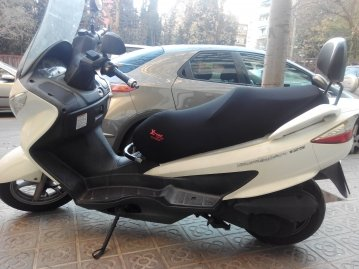 Seat Cover Scooter or Motorcycle Suzuki Burgman 125cc