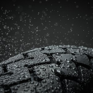 motorcycle tire weather rain